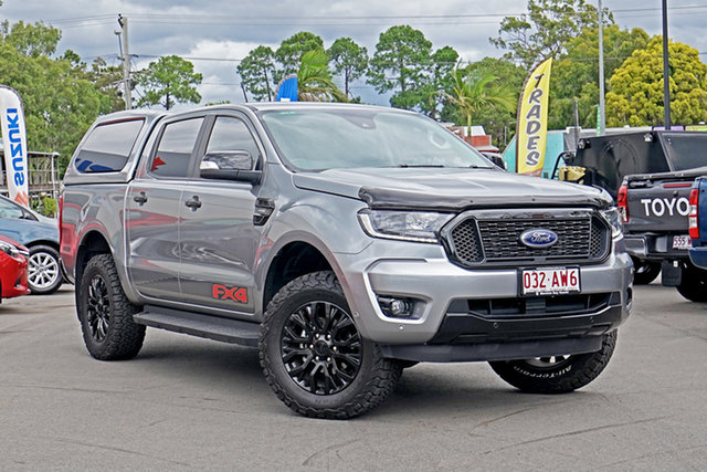 Used Ford Ranger PX MkIII 2020.25MY FX4 Chandler, 2020 Ford Ranger PX MkIII 2020.25MY FX4 Silver 10 Speed Sports Automatic Double Cab Pick Up