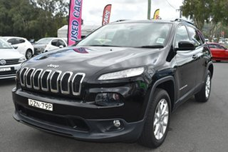 2018 Jeep Cherokee KL MY19 Longitude Black 9 Speed Sports Automatic Wagon
