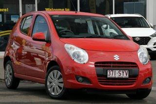 2012 Suzuki Alto GF GL Red 4 Speed Automatic Hatchback.
