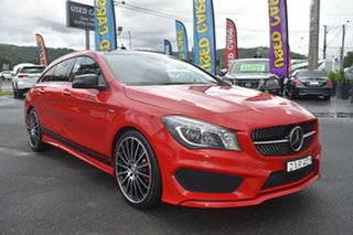 2015 Mercedes-Benz CLA-Class X117 CLA250 Shooting Brake DCT 4MATIC Sport Red/Black 7 Speed.