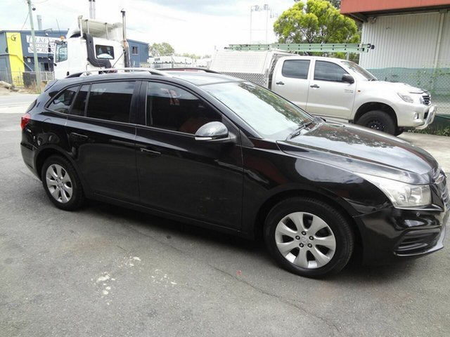 Used Holden Cruze JH MY16 CD Coopers Plains, 2015 Holden Cruze JH MY16 CD Black 6 Speed Automatic Sportswagon