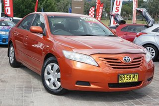 2009 Toyota Camry ACV40R Altise Orange 5 Speed Automatic Sedan.
