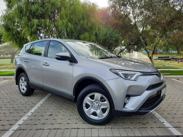 Used Toyota RAV4 ZSA42R GX 2WD Adelaide, 2018 Toyota RAV4 ZSA42R GX 2WD Silver 7 Speed Constant Variable Wagon