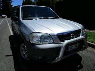 2002 Mazda Tribute Luxury Silver 4 Speed Automatic 4x4 Wagon.