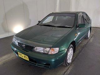 1998 Nissan Pulsar N15 S2 LX Green 5 Speed Manual Sedan.
