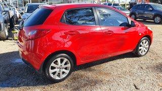 2014 Mazda 2 DJ2HAA Neo SKYACTIV-Drive True Red 6 Speed Sports Automatic Hatchback.