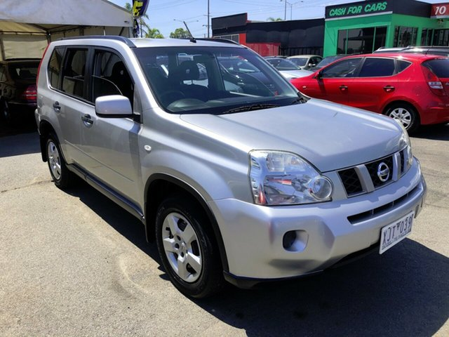 Used Nissan X-Trail T31 MY10 ST Cheltenham, 2009 Nissan X-Trail T31 MY10 ST Silver 1 Speed Constant Variable Wagon
