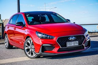 2018 Hyundai i30 PD.3 MY19 N Line D-CT Premium Red 7 Speed Sports Automatic Dual Clutch Hatchback.
