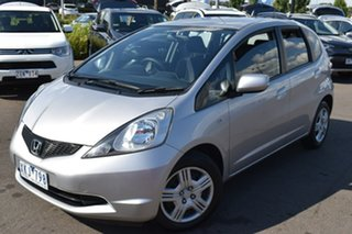 2009 Honda Jazz GE MY10 GLi Silver, Chrome 5 Speed Automatic Hatchback.