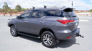 2018 Toyota Fortuner GUN156R Crusade Grey 6 Speed Automatic Wagon