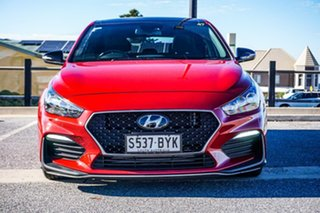 2018 Hyundai i30 PD.3 MY19 N Line D-CT Premium Red 7 Speed Sports Automatic Dual Clutch Hatchback