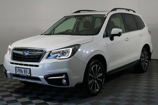 2018 Subaru Forester S4 MY18 2.5i-S CVT AWD White 6 Speed Constant Variable Wagon