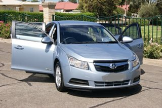 2011 Holden Cruze JG CD Blue 6 Speed Automatic Sedan