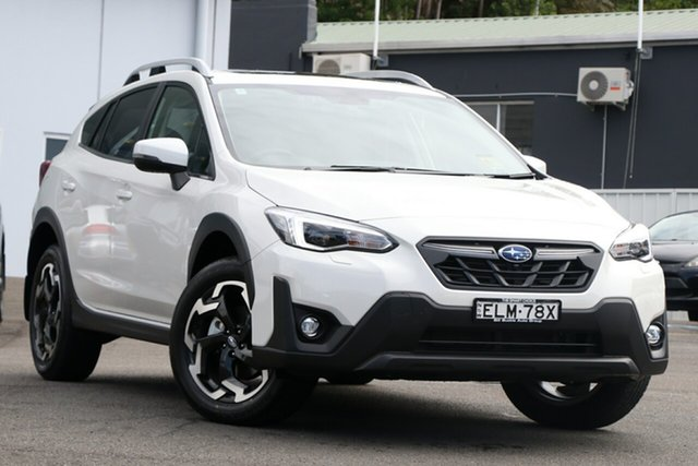 Demo Subaru XV MY21 2.0i-S AWD Brookvale, 2020 Subaru XV MY21 2.0i-S AWD Crystal White Continuous Variable Wagon