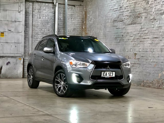 Used Mitsubishi ASX XB MY15 XLS 2WD Mile End South, 2015 Mitsubishi ASX XB MY15 XLS 2WD Grey 6 Speed Constant Variable Wagon