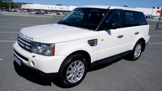 2008 Land Rover Range Rover Sport L320 09MY TDV6 White 6 Speed Sports Automatic Wagon