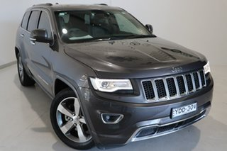 2015 Jeep Grand Cherokee WK MY15 Overland Grey 8 Speed Sports Automatic Wagon