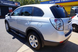 2011 Holden Captiva CG Series II 7 SX Nitrate Silver 6 Speed Sports Automatic Wagon.