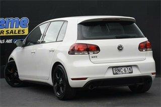 2009 Volkswagen Golf VI MY10 GTI DSG White 6 Speed Sports Automatic Dual Clutch Hatchback