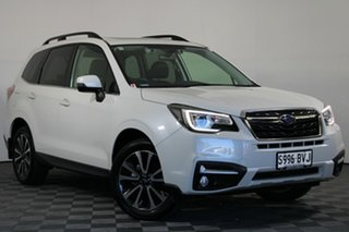 2018 Subaru Forester S4 MY18 2.5i-S CVT AWD White 6 Speed Constant Variable Wagon.
