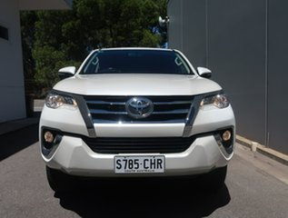 2015 Toyota Fortuner GUN156R GXL White 6 Speed Automatic Wagon