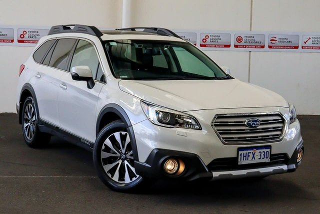 Pre-Owned Subaru Outback MY16 2.5I Premium AWD Myaree, 2016 Subaru Outback MY16 2.5I Premium AWD White Continuous Variable Wagon