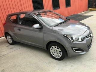 2014 Hyundai i20 PB MY14 Active Grey 4 Speed Automatic Hatchback
