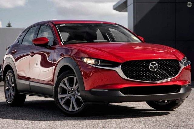 New Mazda CX-30 DM2WLA G25 SKYACTIV-Drive Touring Waitara, 2020 Mazda CX-30 DM2WLA G25 SKYACTIV-Drive Touring Red 6 Speed Sports Automatic Wagon