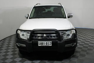 2015 Mitsubishi Pajero NX MY16 GLS White 5 Speed Sports Automatic Wagon.