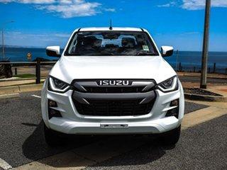 2020 Isuzu D-MAX RG MY21 LS-M Crew Cab White 6 Speed Sports Automatic Utility.