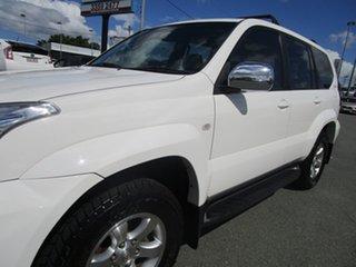 2004 Toyota Landcruiser Prado GRJ120R GXL White 4 Speed Automatic Wagon