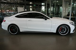 2018 Mercedes-Benz C-Class C205 808MY C63 AMG SPEEDSHIFT MCT S White 7 Speed Sports Automatic Coupe