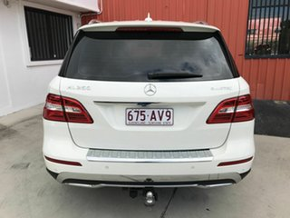 2012 Mercedes-Benz M-Class W166 ML250 BlueTEC 7G-Tronic + White 7 Speed Sports Automatic Wagon