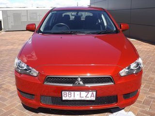 2009 Mitsubishi Lancer CJ MY10 RX Sportback 6 Speed Constant Variable Hatchback