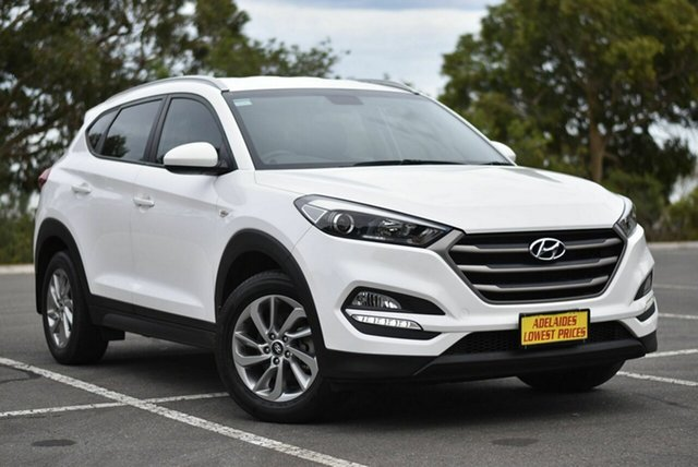 Used Hyundai Tucson TL MY17 Active 2WD Enfield, 2016 Hyundai Tucson TL MY17 Active 2WD White 6 Speed Sports Automatic Wagon