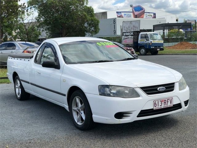 Used Ford Falcon BF Mk II XL Archerfield, 2007 Ford Falcon BF Mk II XL White 4 Speed Sports Automatic Utility