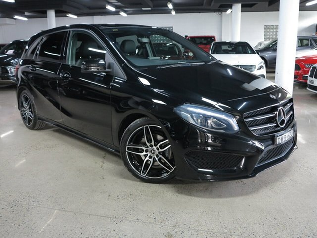 Used Mercedes-Benz B-Class W246 808MY B180 DCT Albion, 2017 Mercedes-Benz B-Class W246 808MY B180 DCT Black 7 Speed Sports Automatic Dual Clutch Hatchback