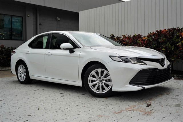 Used Toyota Camry ASV70R Ascent Cairns, 2019 Toyota Camry ASV70R Ascent White 6 Speed Sports Automatic Sedan