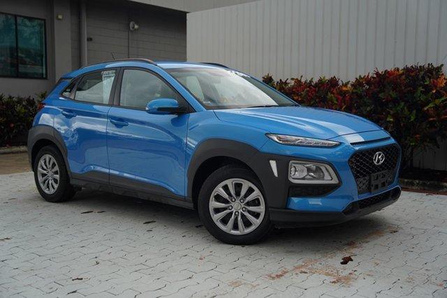 Used Hyundai Kona OS.2 MY19 Go 2WD Cairns, 2019 Hyundai Kona OS.2 MY19 Go 2WD Blue 6 Speed Sports Automatic Wagon