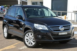 2011 Volkswagen Tiguan 5N MY11 103TDI DSG 4MOTION Black 7 Speed Sports Automatic Dual Clutch Wagon.
