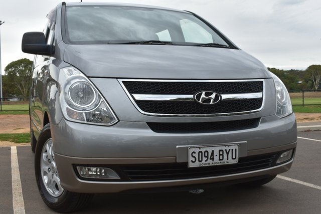 Used Hyundai iMAX TQ-W Selectronic St Marys, 2010 Hyundai iMAX TQ-W Selectronic Silver 5 Speed Sports Automatic Wagon