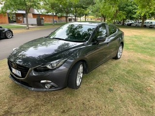 2015 Mazda 3 BM5238 SP25 SKYACTIV-Drive Astina Meteor Grey 6 Speed Sports Automatic Sedan.