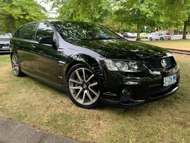 Used Holden Commodore VE II SS V Sportwagon Launceston, 2010 Holden Commodore VE II SS V Sportwagon Black 6 Speed Sports Automatic Wagon
