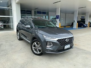 2018 Hyundai Santa Fe TM MY19 Highlander Green 8 Speed Sports Automatic Wagon.