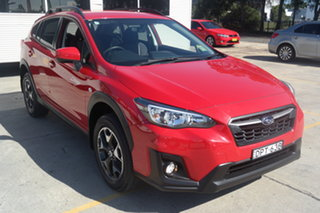 2017 Subaru XV G4X MY17 2.0i Lineartronic AWD Pure Red 6 Speed Constant Variable Wagon.