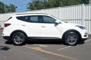 2016 Hyundai Santa Fe DM3 MY16 Active White 6 Speed Sports Automatic Wagon.