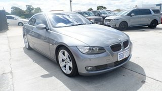 2007 BMW 3 Series E92 335i Steptronic Grey 6 Speed Sports Automatic Coupe.