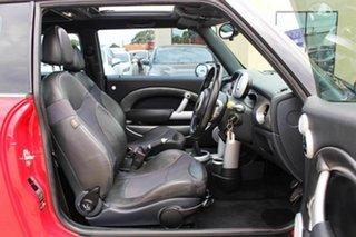 2005 Mini Hatch R53 MY05 Cooper S Red 6 Speed Manual Hatchback