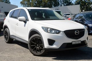 2014 Mazda CX-5 KE1071 MY14 Maxx SKYACTIV-MT White 6 Speed Manual Wagon.