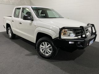 2017 Volkswagen Amarok 2H MY17 TDI420 4MOTION Perm Core White 8 Speed Automatic Utility.